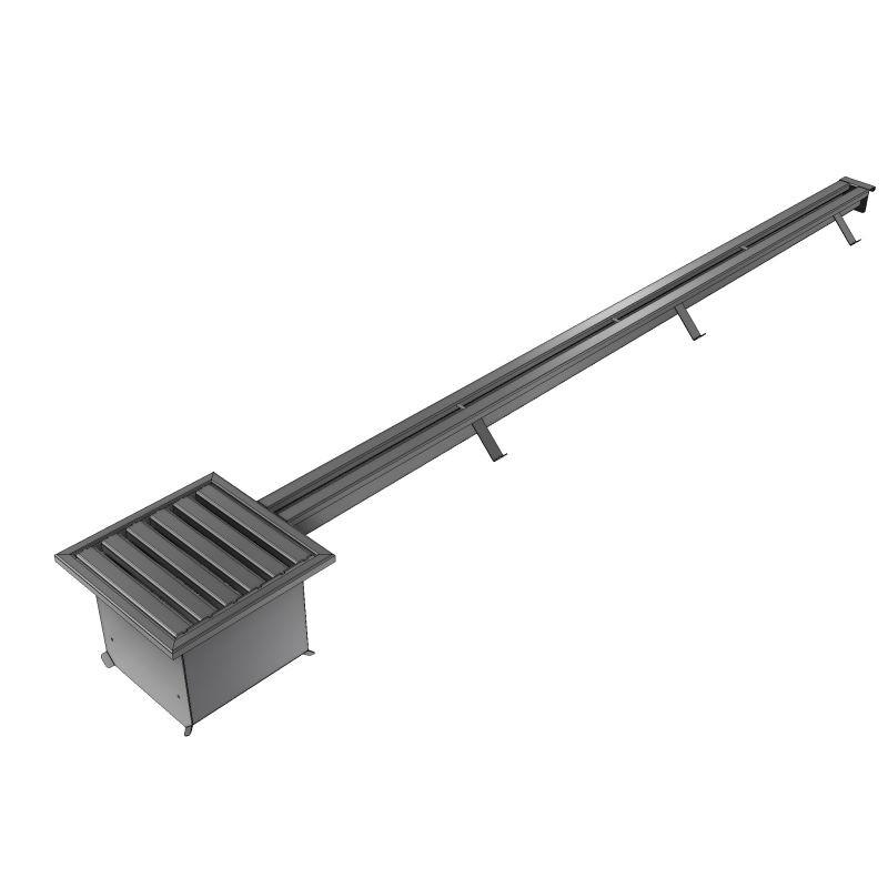Canaleta de aço inox