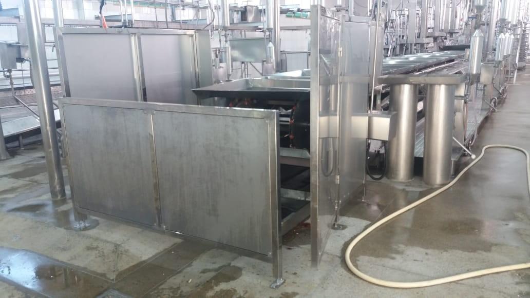 Equipamentos para frigorífico de suínos
