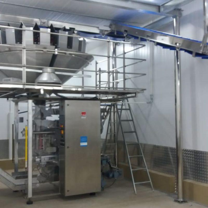 Máquinas processamento de alimentos