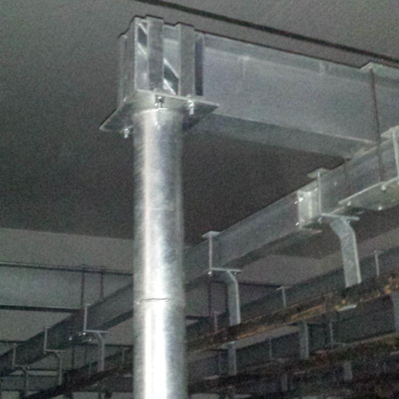 Trilhos aéreos para frigorífico
