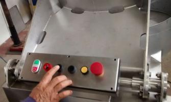 Centrifuga lavadora de bucho